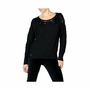DIESEL samirah sequin cable knit sweater top $278